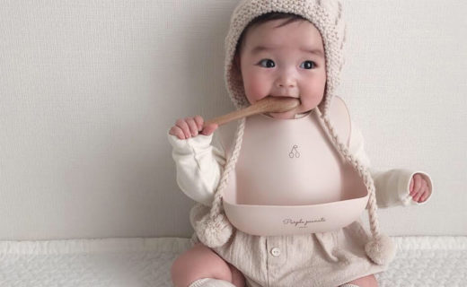 赤ちゃんとスタイ