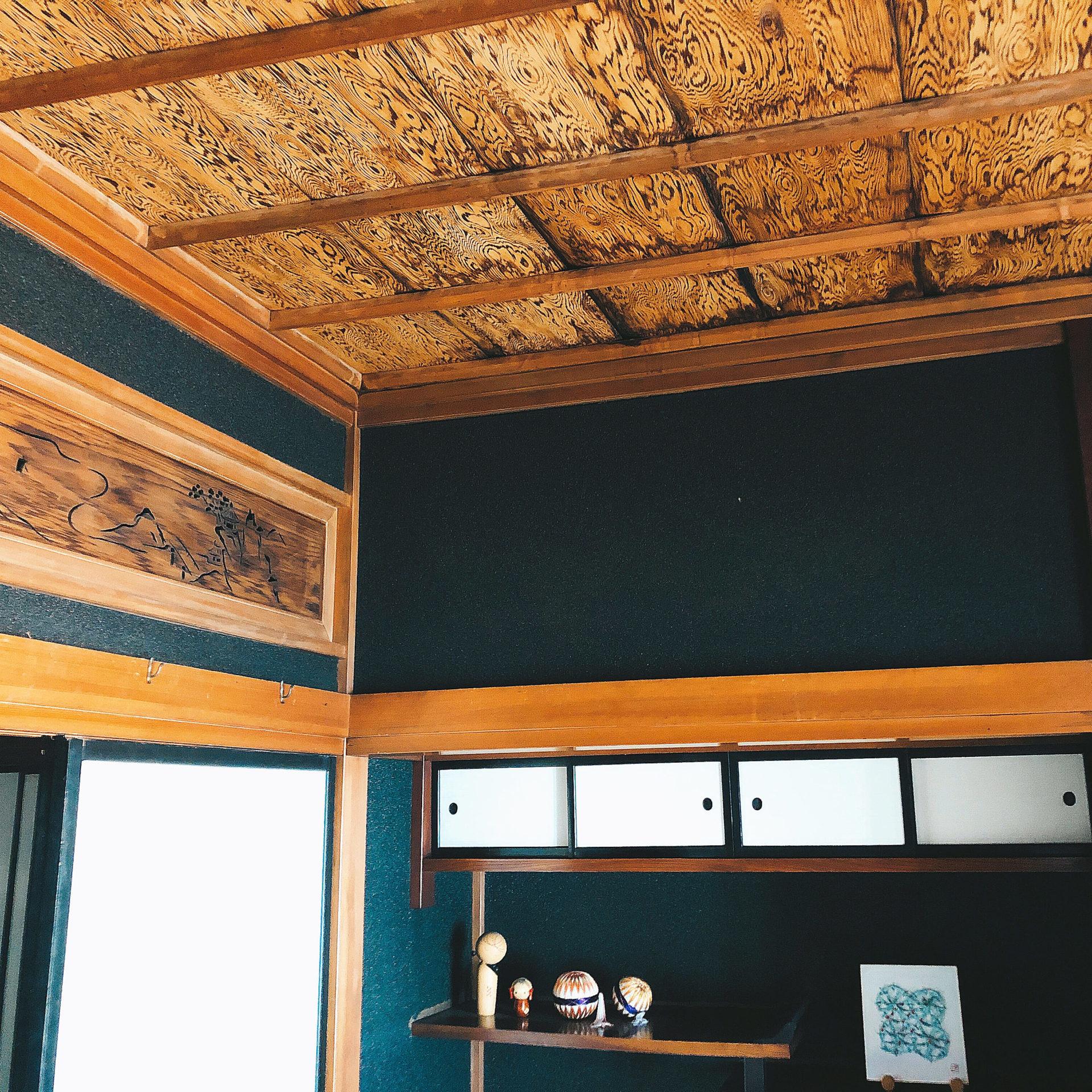 屋久杉の天井