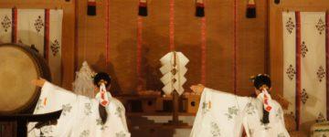 御岳山 武蔵御嶽神社「太々神楽」