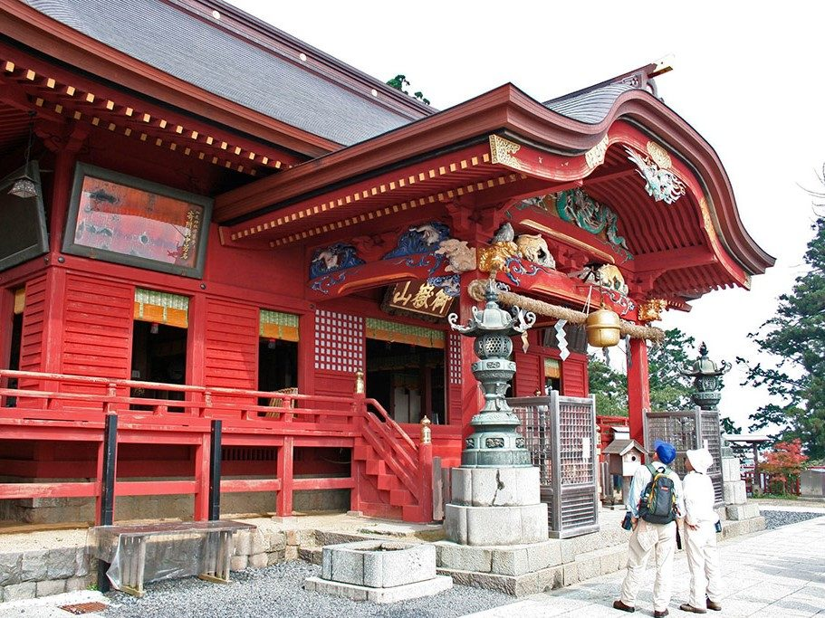 御岳神社本殿