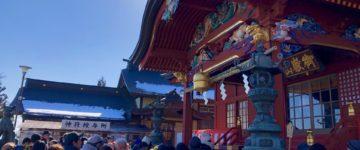 武蔵御嶽神社「節分祭」