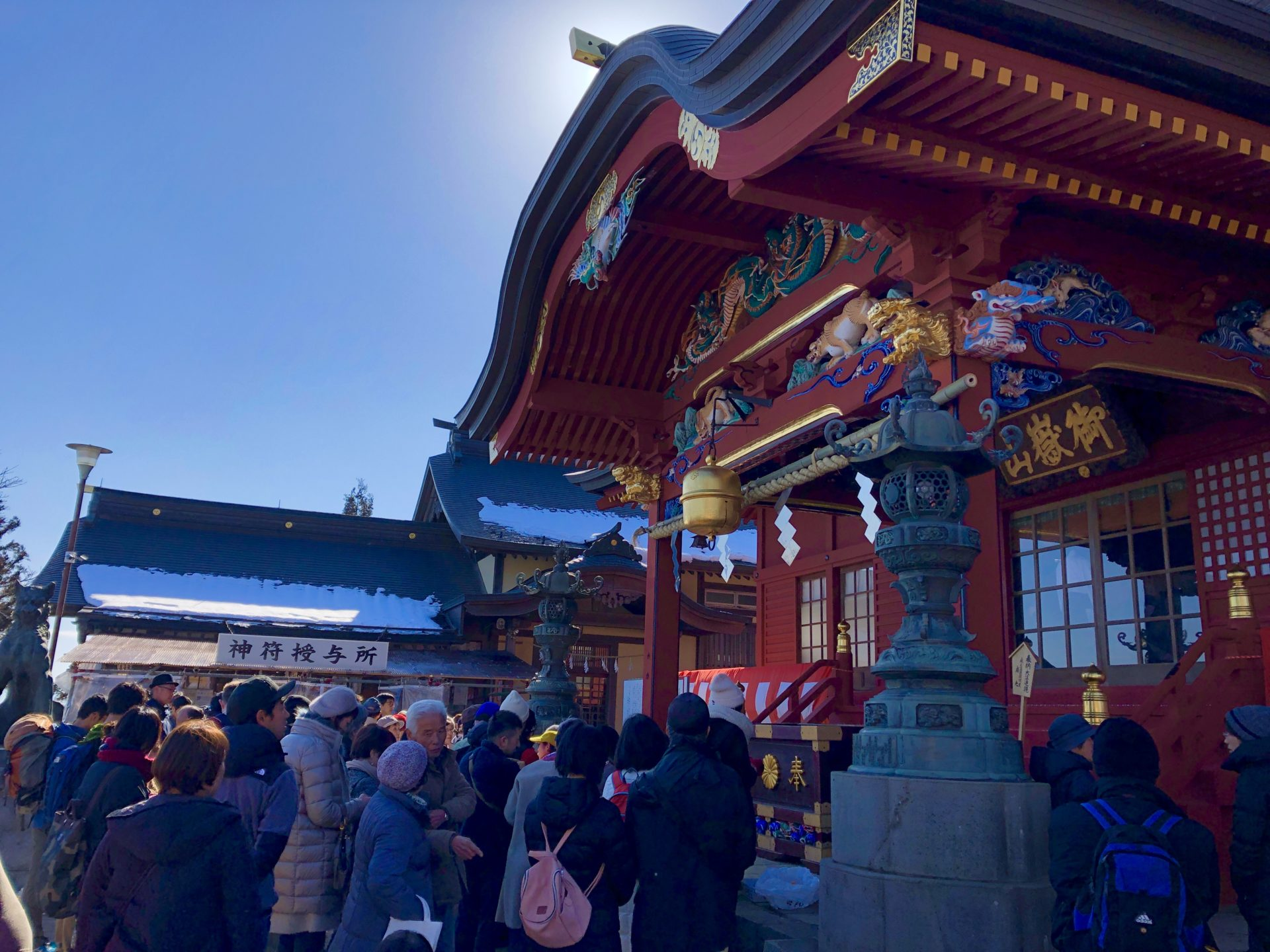 武蔵御嶽神社社殿