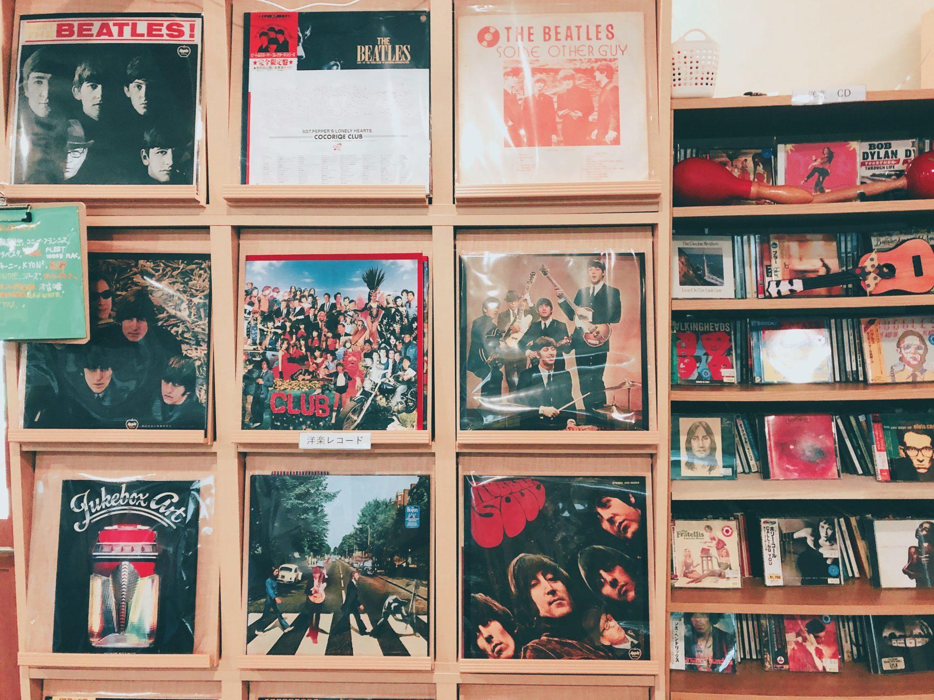レコードが一万枚