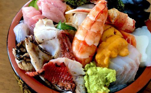 寿司勝人気の海鮮丼