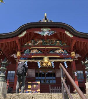 天空のパワースポット武蔵御嶽神社