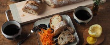 木と器と、パンと