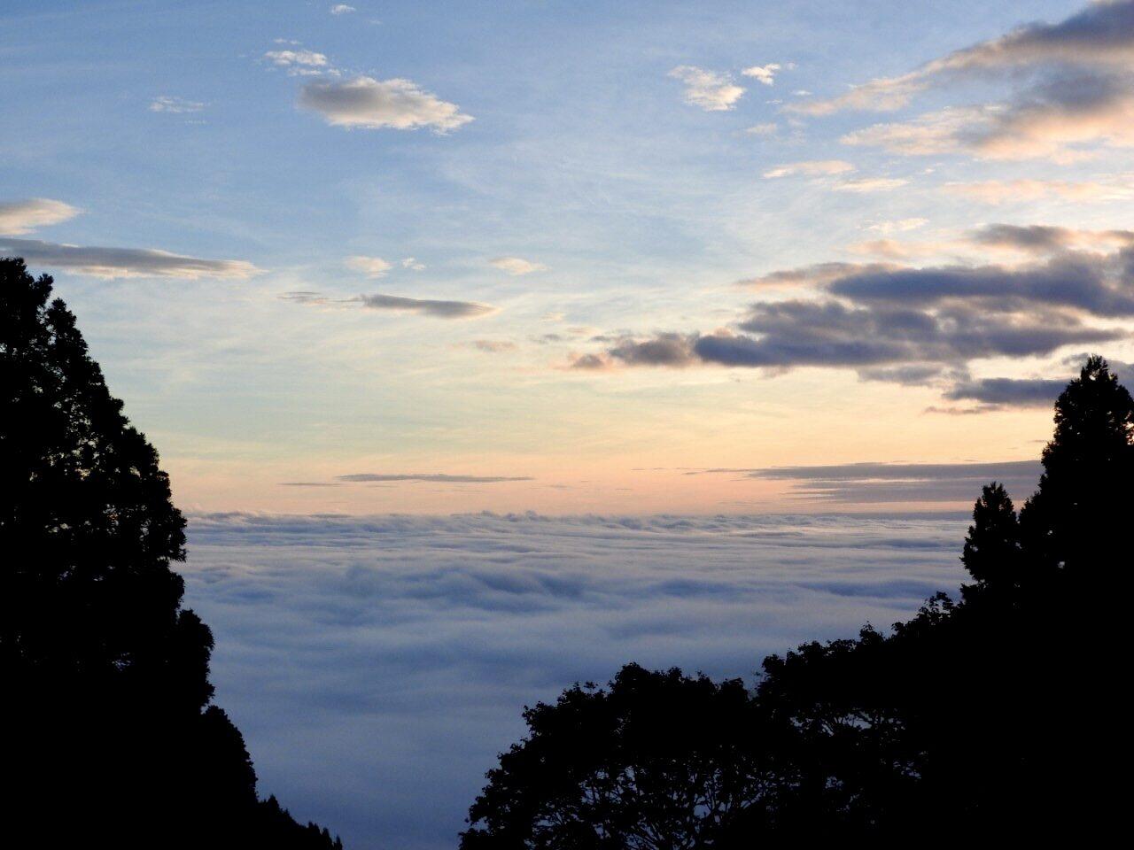 御岳山の雲海