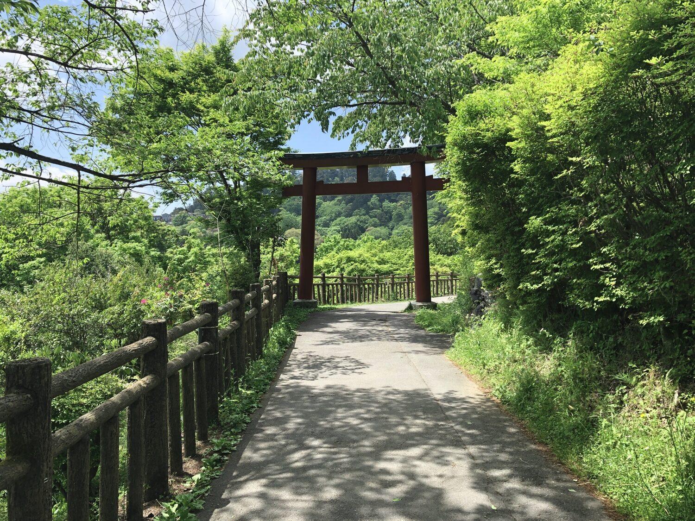 御岳集落への入り口