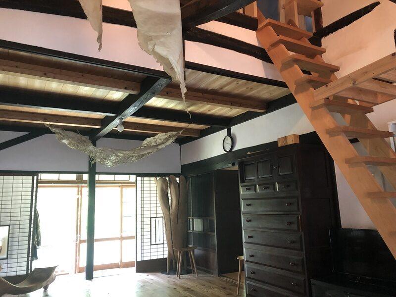 リビングスペースの天井