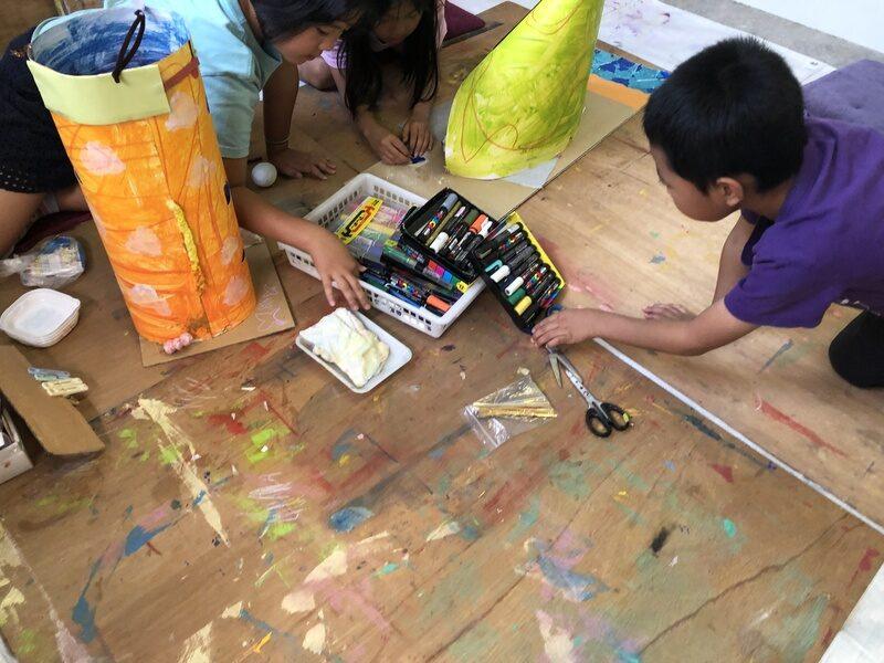 絵画教室の様子
